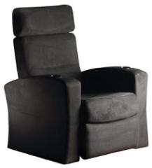 Custom Home Theater Chair Grey