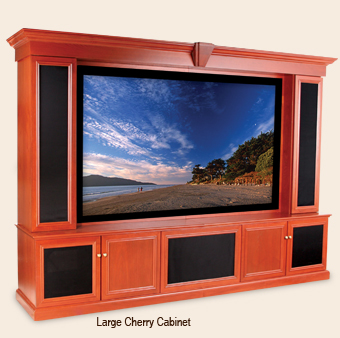 Custom Home Theater Cabinet