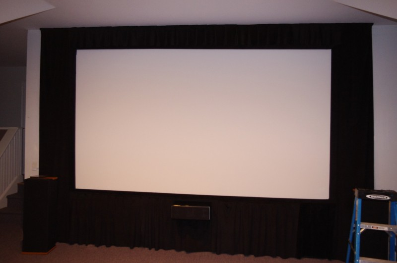 Custom Home Theater Screen