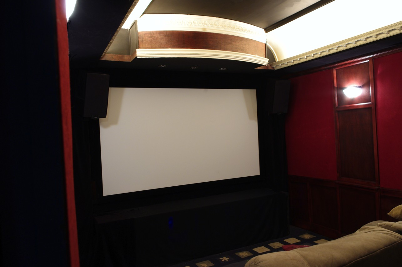 Medium Custom Home Theater
